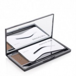 Beautiful brows FAB Brows Eyebrow Kit Pusiau permanentinis antakių priežiūros rinkinys (slate) Dark Brown