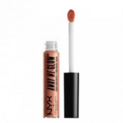 Nyx professional makeup Away We Glow Liquid Highlighter Švytėjimo suteikianti priemonė Rose quartz6.8ml