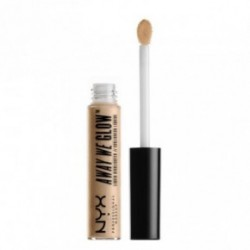 Nyx professional makeup Away We Glow Liquid Highlighter Švytėjimo suteikianti priemonė Daytime halo6.8ml