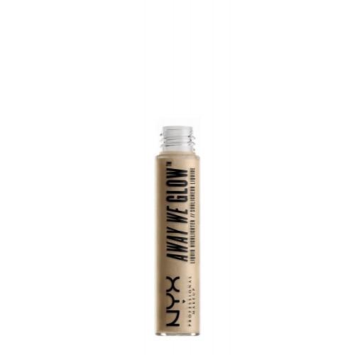 Nyx professional makeup Away We Glow Liquid Highlighter Švytėjimo suteikianti priemonė 6.8ml