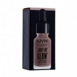Nyx professional makeup Away We Glow Liquid Booster Skysta švytėjimo suteikianti priemonė