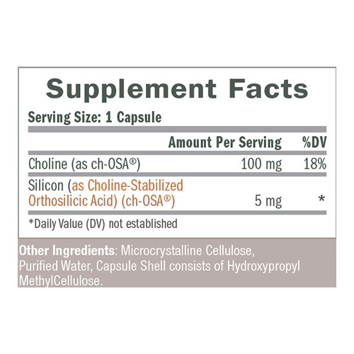 Biosil Dietary Supplement Maisto papildas 60 vnt.