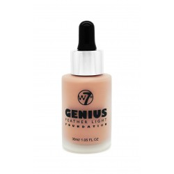 W7 cosmetics W7 genius foundation Makiažo pagrindas 30mlEarly Tan