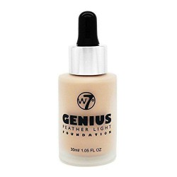 W7 cosmetics W7 genius foundation Makiažo pagrindas 30mlNatural Beige
