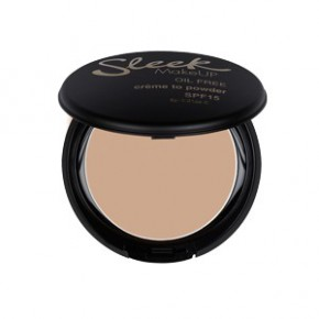 Sleek makeup Creme to powder foundation Kreminė kompaktinė pudra (spalva - oyster) 9g