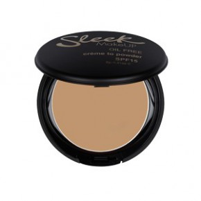 Sleek makeup Creme to powder foundation Kreminė kompaktinė pudra (spalva - barley) 9g