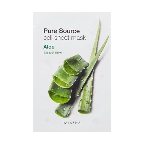 Missha Pure source cell sheet Veido kaukė su alijošiumi 21g