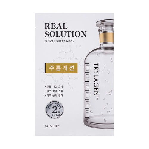 Missha Real solution tencel Veido kaukė (intensive moisturizing) 25g