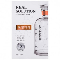 Missha Real solution tencel Veido kaukė (intensive moisturizing) Total Care25g
