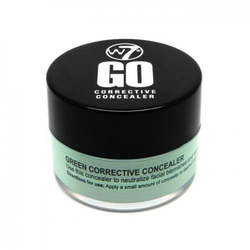 W7 cosmetics W7 go corrective green Korektorius 7g
