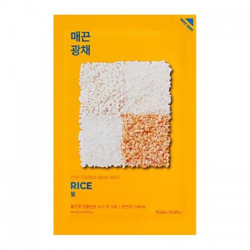 Holika holika Pure essence mask sheet rice Veido kaukė 20ml