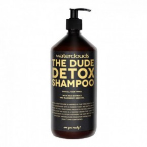 Waterclouds The dude detox šampūnas 1000ml