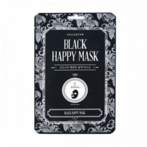 Kocostar Black happy mask kaukė 25ml