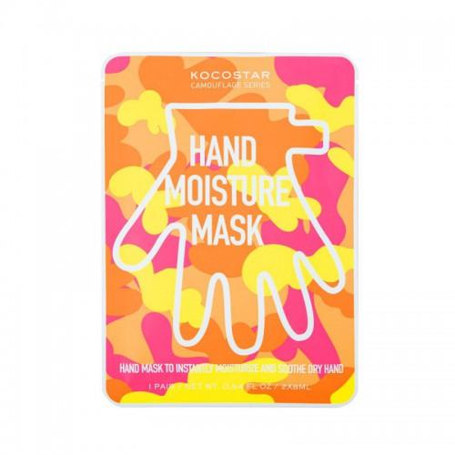 Kocostar Camouflage hand moisture mask Rankų kaukė 2x8ml