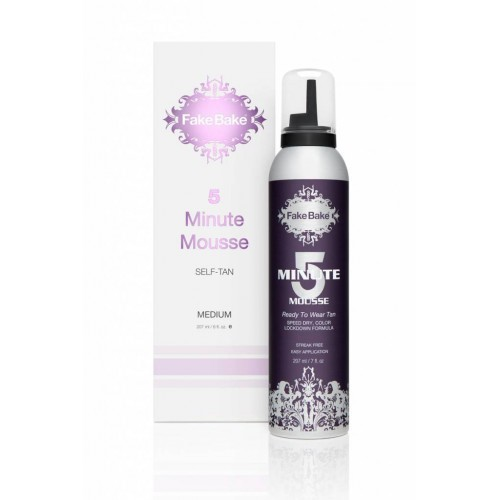 Fake bake 5 minute mousse self-tan savaiminio įdegio putos 207ml