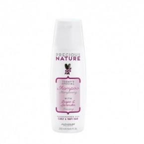 Alfaparf milano Precious Nature Šampūnas su levandų ir vynuogių serumu garbanotiems plaukams 250ml