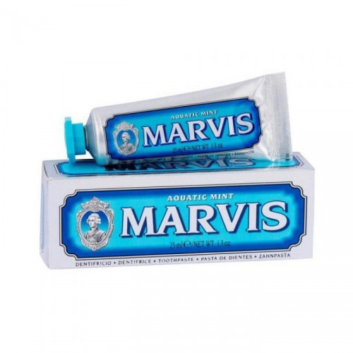 Marvis Aquatic mint jūros gaivos skonio dantų pasta 25ml