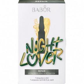 Night Lover Intensyviai veido odą regeneruojantis miego metu koncentratų rinkinys