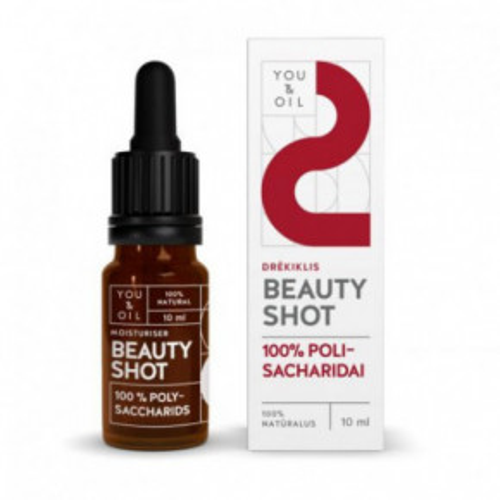 Beauty Shot Moisturizer 100% POLYSACCHARIDS 100 % POLISACHARIDAI veidui / DRĖKIKLIS