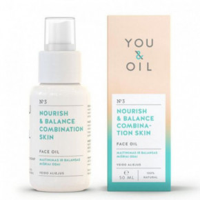 Nourish & Balance Combination Skin Face Oil Veido aliejus mišriai odai