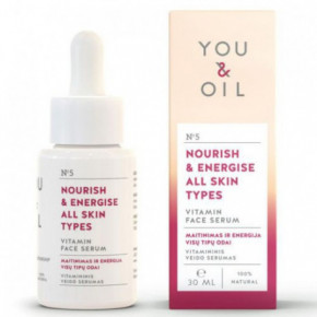 Nourish & Energise All Skins Types Vitamin Face Serum Vitamininis veido serumas