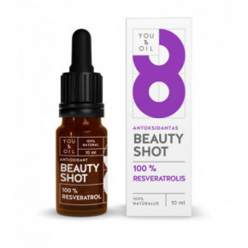 Beauty Shot Antioxidant 100% Resveratrol Veidui/ANTIOKSIDANTAS