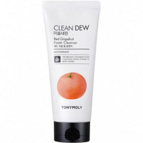 Clean Dew Red Grapefruit Foam Cleanser Putojantis veido prausiklis
