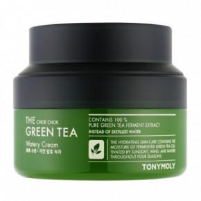 The Chok Chok Green Tea Watery Cream Veido kremas su žaliosios arbatos ekstraktu