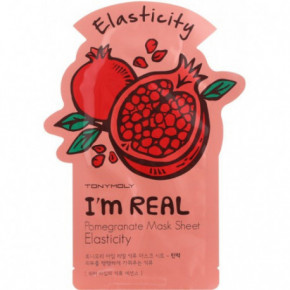 I m Real Pomegranate Mask Sheet Stangrinanti veido kaukė