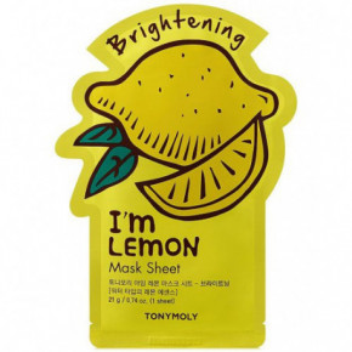I'm Lemon Mask Sheet Skaistinanti lakštinė veido kaukė