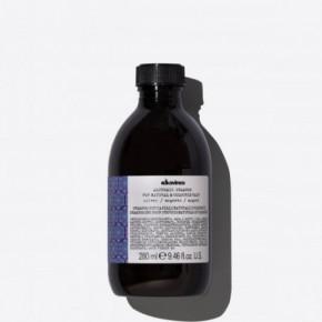 Davines Alchemic Silver Shampoo Platininis šampūnas dažytiems plaukams 280ml