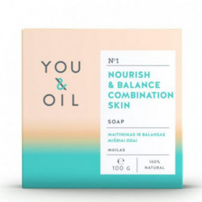 Nourish & Balance Combination Skin Soap Muilas mišriai odai