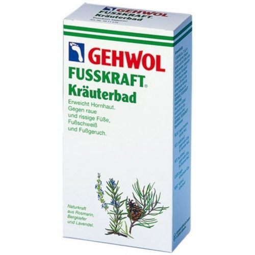 Gehwol Fusskraft Herbal Bath Žolelių vonelė 400g