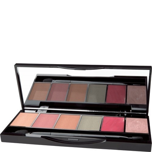 Babor Pastel Colour Collection For Lips & Eyes Veido makiažo paletė 4x1,35g, 2x1g