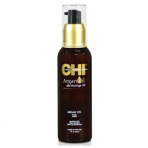 CHI Argan Oil Argano ir moringų aliejų priemonė plaukams 89ml