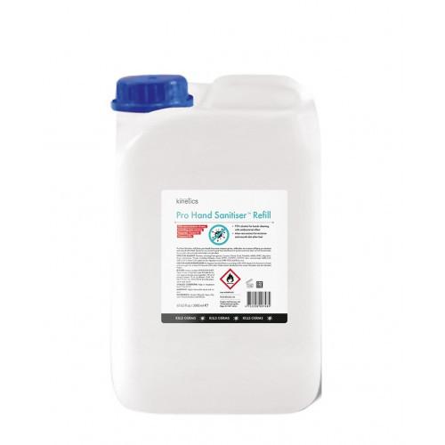 Kinetics Pro Hand Sanitiser Spray Refill Rankų dezinfekavimo priemonė-papildymas 5000ml
