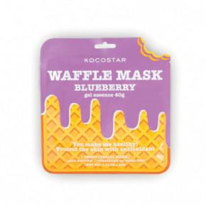 Waffle Mask Blueberry Veido kaukė