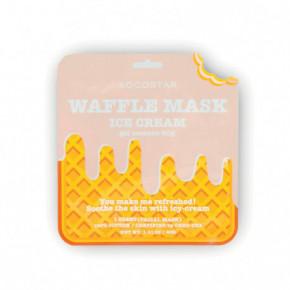 Waffle Mask Ice Cream Veido kaukė