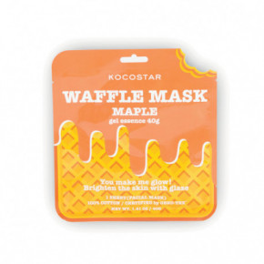 Waffle Mask Maple Veido kaukė