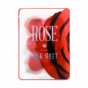 Kocostar Rose Flower Mask Sheet Rožių kaukė 20ml