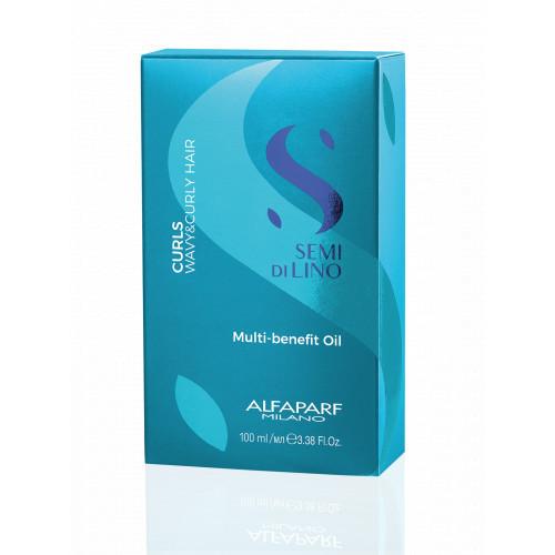 AlfaParf Milano Curls Multi-Benefit Oil Daugiafunkcinis aliejukas 100ml