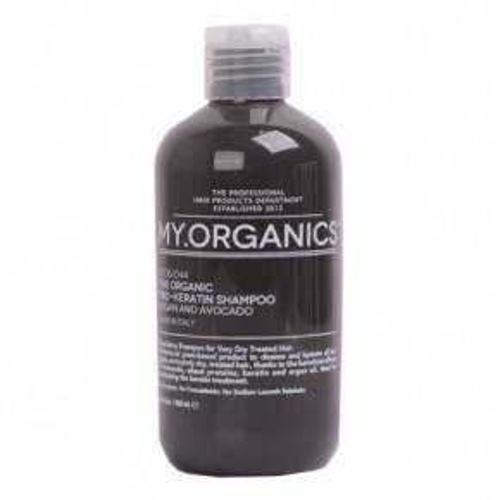 The Oganic Pro-keratin shampoo Plaukų šampūnas su arganu ir avokadu