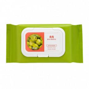 Daily Fresh Olive Cleansing Tissue Drėgnos servetėlės makiažui valyti