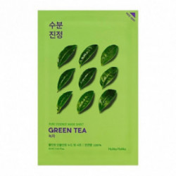 Holika Holika Pure Essence Mask Sheet Green Tea veido kaukė 20ml