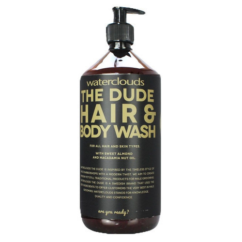 Waterclouds The Dude Hair and Body Wash Plaukų ir kūno šampūnas 250ml