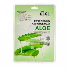 Super Natural Ampoule Mask Aloe Lakštinė veido kaukė su alijošiaus ekstraktu