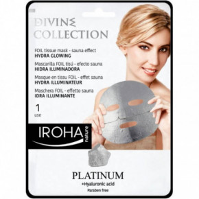 Divine Collection Foil Tissue Mask Hydra Glowing Odą skaistinanti veido kaukė