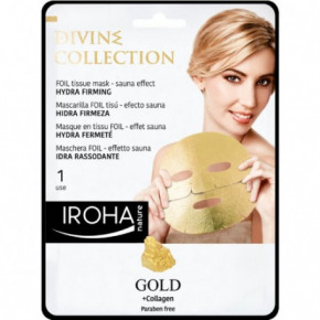 Divine Collection FOIL Tissue Mask Hydra Firming Stangrinamoji veido kaukė