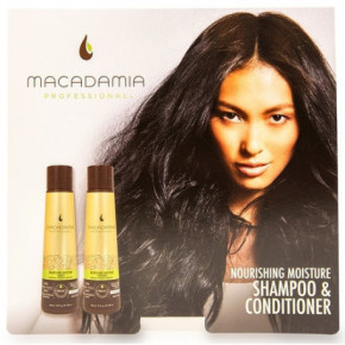 Macadamia Nourishing Repair Maitinamasis, Drėkinamasis Mini Rinkinys Plaukams 2x10ml