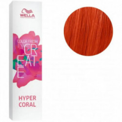 Wella Color fresh create semi permanent hair colour plaukų dažai 60mlHyper Coral